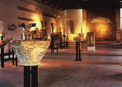 Interno museo Pomposiano